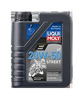 Олива для 4-тактних двигунів - Motorbike 4T 20W-50 Street