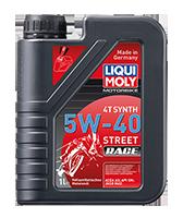 Олива для 4-тактних двигунів - Motorbike 4T Synth Street Race 5W-40