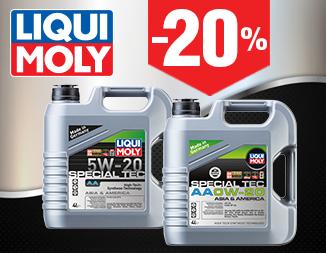 Моторное масло SPECIAL TEC АА 0W-20 и 5W-20 (4л) со скидкой -20%