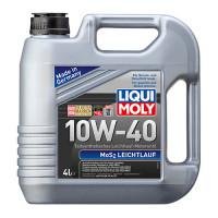 Полусинтетическое моторное масло с молибденом MoS2 Leichtlauf SAE 10W-40 4 л.