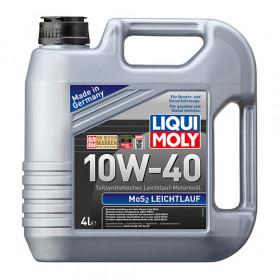 Полусинтетическое моторное масло с молибденом MoS2 Leichtlauf SAE 10W-40 4л.