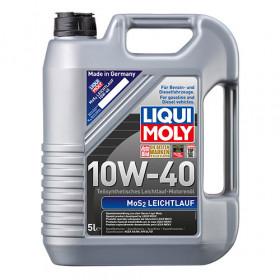 Полусинтетическое моторное масло с молибденом MoS2 Leichtlauf SAE 10W-40 5 л.