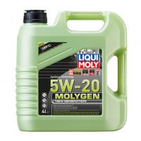 Синтетическое моторное масло - Molygen New Generation 5W-20   4л.