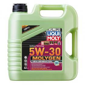 Синтетическое моторное масло - Molygen New Generation DPF 5W-30   4 л.