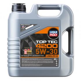 Синтетическое моторное масло - Top Tec 4200 SAE 5W-30   4л.