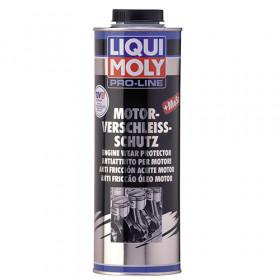 Антифрикционная присадка с дисульфидом молибдена в моторное масло Pro-Line Motor-Verschleiss-Schutz  1 л.