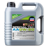Синтетическое моторное масло - special tec аа 0w-20   4л.