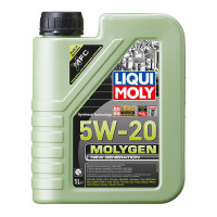Синтетическое моторное масло - Molygen New Generation 5W-20   1 л.