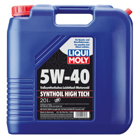 Синтетическое моторное масло - Synthoil High Tech SAE 5W-40   20л.