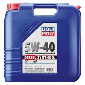 Синтетическое моторное масло - Diesel Synthoil SAE 5W-40   20л.