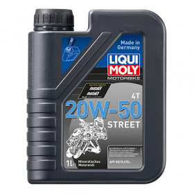 Масло для 4-тактных двигателей - Motorbike 4T 20W-50 Street 1л.