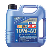 Полусинтетическое моторное масло - Super Leichtlauf SAE 10W-40   4 л.