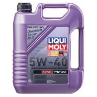 Синтетическое моторное масло - Diesel Synthoil SAE 5W-40   5л.