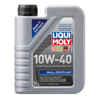 Полусинтетическое моторное масло с молибденом MoS2 Leichtlauf SAE 10W-40 1 л.