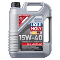 Минеральное моторное масло с молибденом MoS2 Leichtlauf SAE 15W-40   5 л.