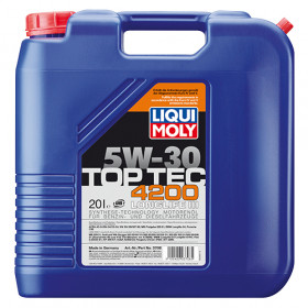 Синтетическое моторное масло - Top Tec 4200 SAE 5W-30   20л.
