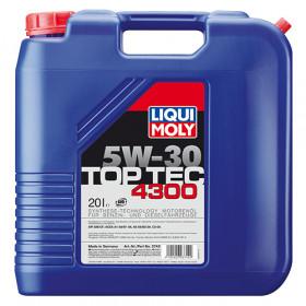Синтетическое моторное масло - Top Tec 4300 SAE 5W-30   20л.