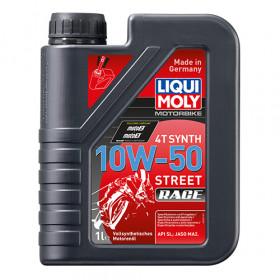 Масло для 4-тактных двигателей - Motorbike 4T Synth 10W-50 Street Race 1л.