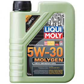 Синтетическое моторное масло - Molygen New Generation 5W-30   1л.