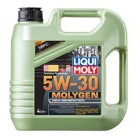 Синтетическое моторное масло - Molygen New Generation 5W-30   4л.
