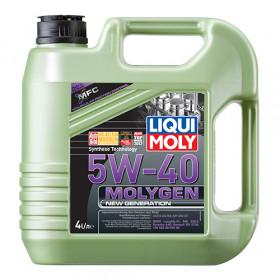 Синтетическое моторное масло - Molygen New Generation 5W-40   4л.