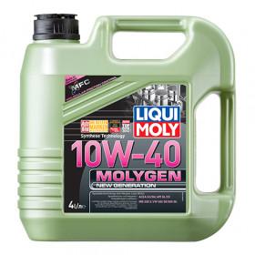 Полусинтетическое моторное масло - Molygen New Generation 10W-40   4 л.