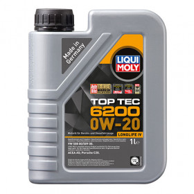 Синтетическое моторное масло - Top Tec 6200 0W-20 1л.