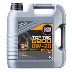 Синтетическое моторное масло - Top Tec 6200 0W-20 4л.