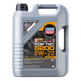 Синтетическое моторное масло - Top Tec 6200 0W-20 5л.