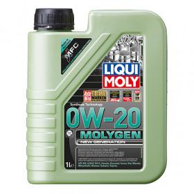 Синтетическое моторное масло - Molygen New Generation 0W-20  1 л.