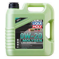Синтетическое моторное масло - Molygen New Generation 0W-20   4л.