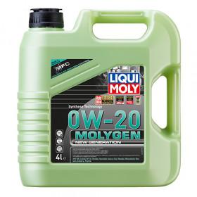 Синтетическое моторное масло - Molygen New Generation 0W-20   4 л.