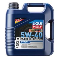 Синтетическое моторное масло - Optimal Synth SAE 5W-40 4 л.