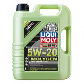 Синтетическое моторное масло - Molygen New Generation 5W-20  5 л.